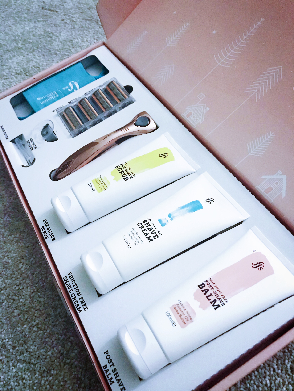 Lady razor gift box