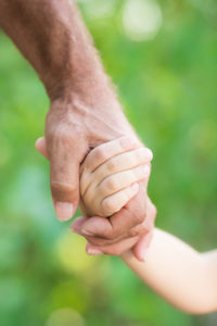 grandparent caring for grandchild