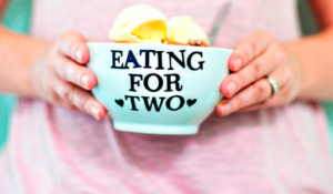 Eating for two pregnancy