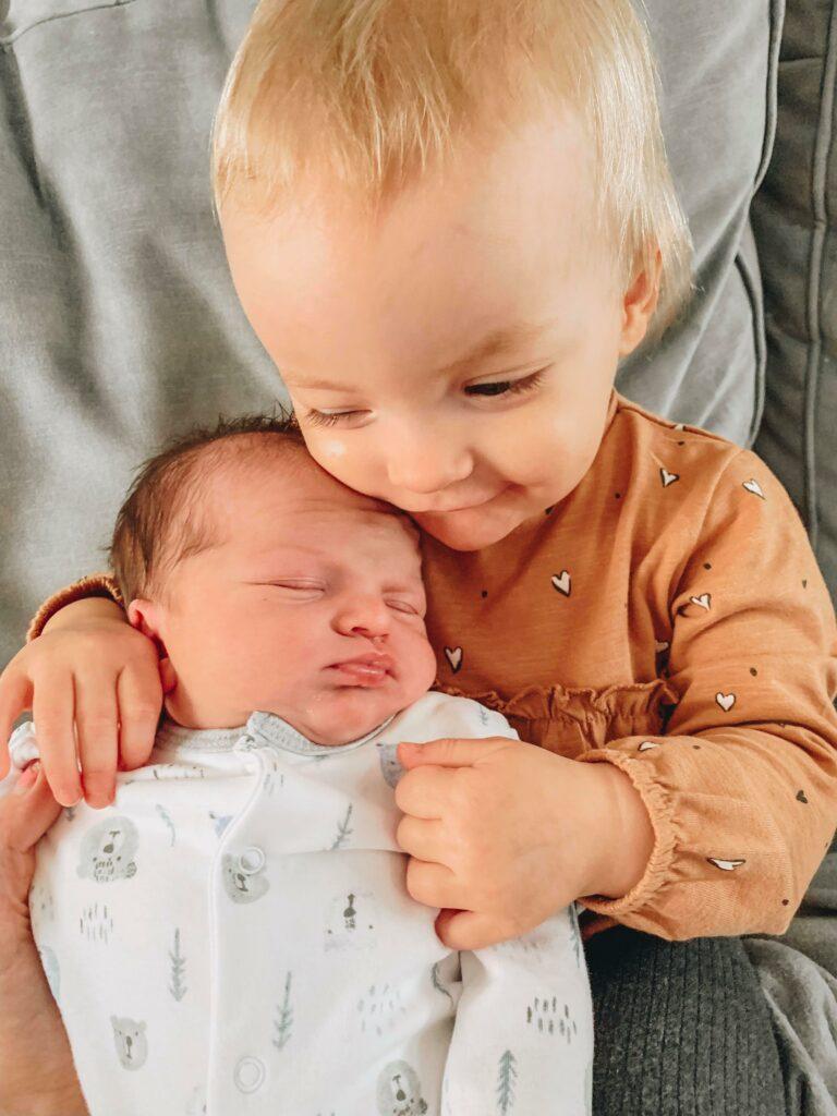 introducing a newborn to a toddler