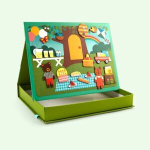 petit college magnetic play scene